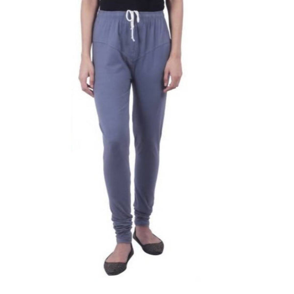 Amihgo Women's Grey Churidar Cotton Legging-Free Size $ MAH40003