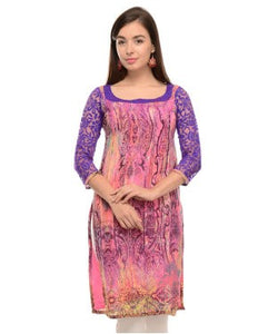 LADY IN RED Pink Kurti