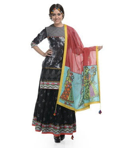 Cotton Ghagra Suit