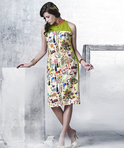 Summer Cool Georgette Kurti