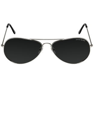 David Blake Black Aviator UV Protection Sunglass