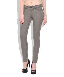 Chlorophile Women's Bamboo Pin Checker Jeggings