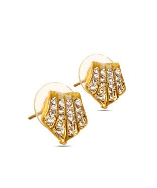 Sparkly Shield Earrings-JDGMEAR1611