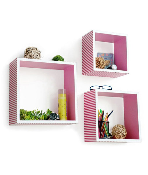 THE NEW LOOK Wall Shelves(3 Pcs)-100000528487