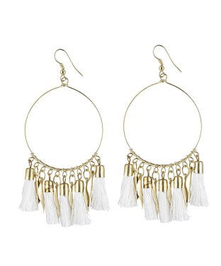 aradhya Alloy Tassel Earring, Dangle Earring