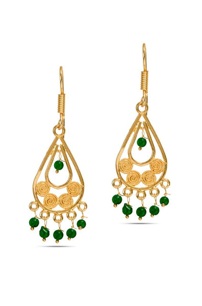 Citrus Green Earrings - JODDEAR9416