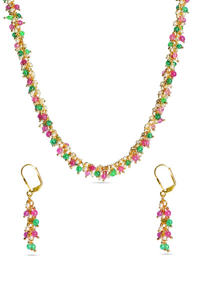 BAUBLE BURST Necklace with Earrings-100000617285