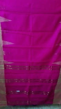 Festive Buzz Pink Cotton Handloom Sarees $ 1425