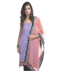 ROEMILY HOUSE Unstitched suit with dupatta