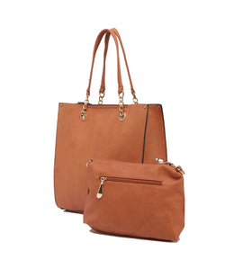 Fiona Trends Tan PU Shoulder Bag,6001_TAN
