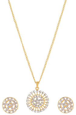 Sparkle Ball Pendant Set - JGAHNEC9922
