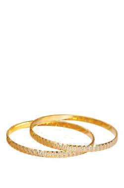 Bauble Burst Golden Eye Bangles