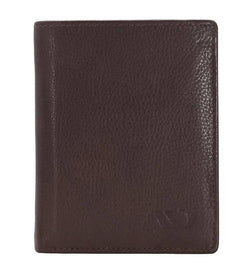 Annodyne Men's BROWN AXEL Genuine Leather Wallet_A513WM $ R_A513WM_DRK_BRN