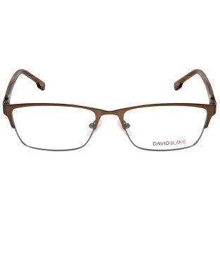 David Blake Matte Copper Rectangular Full Rim EyeFrame