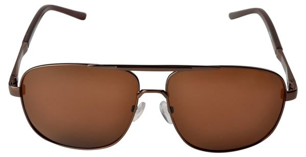 Lawman UV Protected Brown Unisex Sunglasses-LawmanPg3 Sunglasses LM4501 C2