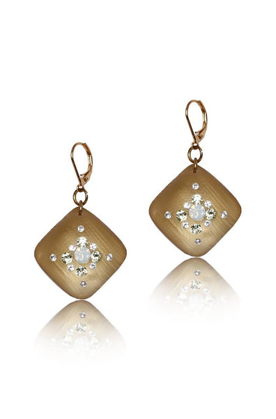Bauble Burst Atom Gold Earrings