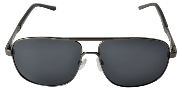 Lawman UV Protected Grey Unisex Sunglasses-LawmanPg3 Sunglasses LM4501 C1 (Grey)