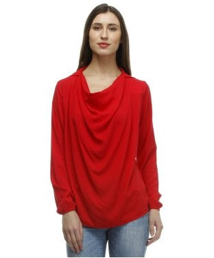 Glam a gal red tunic