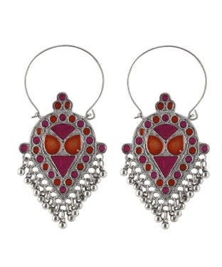 Aradhya Metal Drop Earring, Dangle Earring, Hoop Earring