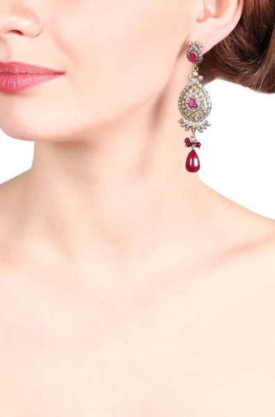 Ruby Aura Earrings - JIMHEAR1800