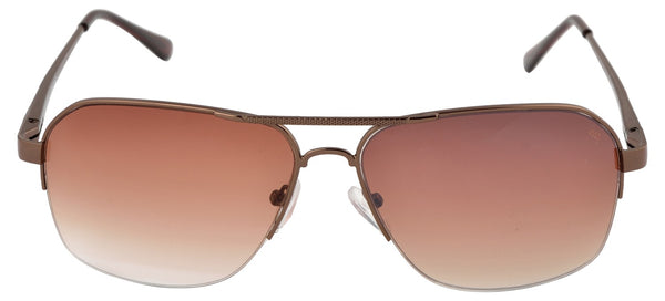 Lawman UV Protected Brown Unisex Sunglasses-LawmanPg3 Sunglasses LM4509 C2