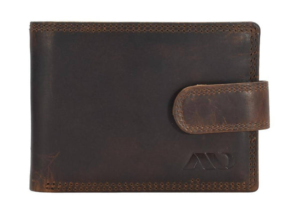 Annodyne Men's BROWN ELAS Genuine Leather Wallet_A523WM $ R_A523WM_CRN_BRN