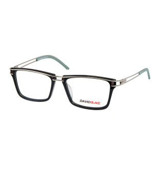 David Blake Black Wayfarer Full Rim EyeFrames