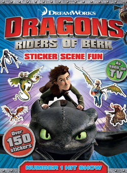 How To Train Your Dragon: Sticker Scenes Book