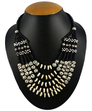 Aradhya Beads Bone Necklace