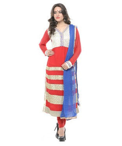 Adakari Kurta with Salwar and Dupatta