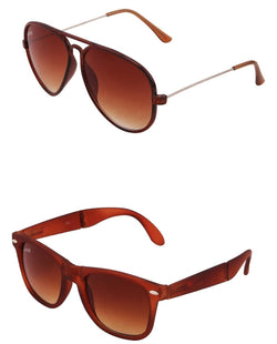 Benour pack of 2 Unisex Sunglasses $ BENCOM201
