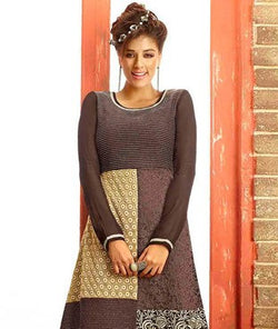 Georgette and Poly Shantoon Kurti
