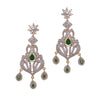 Emerald Chandelier Earrings - JDMDEAR1925