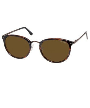 David Blake Brown Round Polarised, UV Protected Sunglass