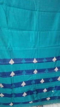 Festive Buzz Green Cotton Handloom Sarees $ 1419
