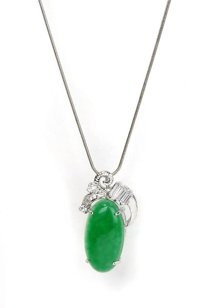 Go Green Pendant With Chain - JBOIPEN0164