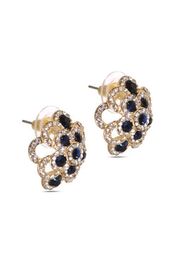 Sprinkle Of Blue Ear Studs - JIDJEAR5852