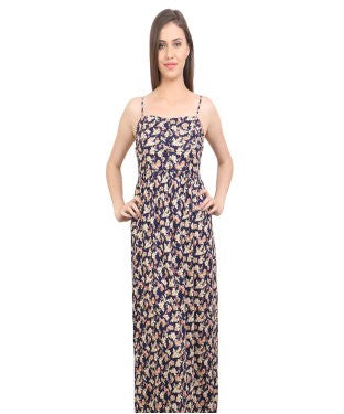 REDPOSE PRINTED FLORAL MAXI DRESS