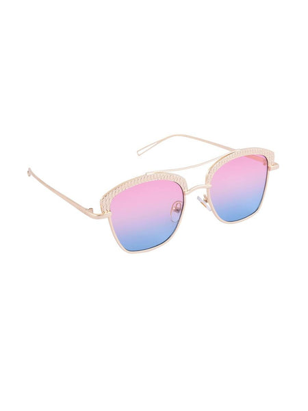 6by6 Gold & Pink Wayfarer Women Sunglasses $ 6B6SG1966