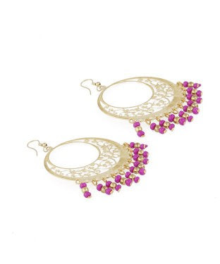 Aradhya Beads Alloy, Metal Dangle Earring