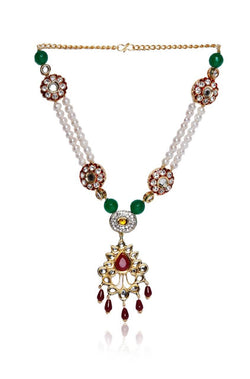 Moti Mahal Necklace - JMRJNEC8740
