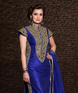 Banarasi Silk Suit with Dupatta