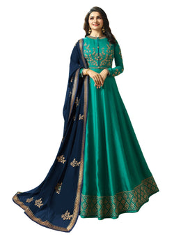 YOYO Fashion Joya Silk Anarkali Salwar Suit $ YO2-F1273