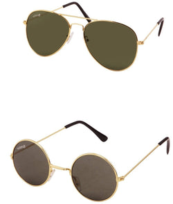 Benour pack of 2 Unisex Sunglasses $ BENCOM190
