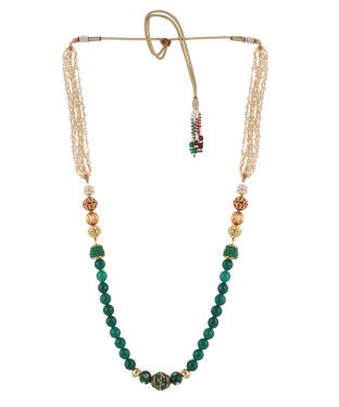 Aradhya Onyx Crystal Necklace