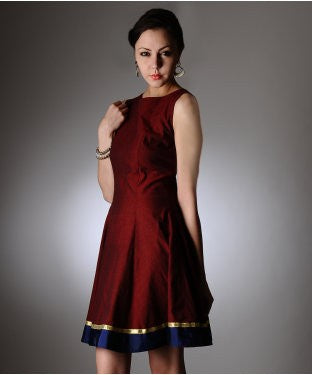 AASTHA & SIDDHARTHA Short Dress