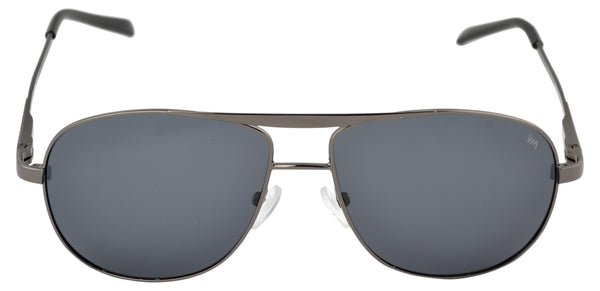 Lawman UV Protected Grey Unisex Sunglasses-LawmanPg3 Sunglasses LM4503 C1 (Grey)