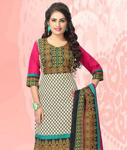 Polyester Suit with Dupatta