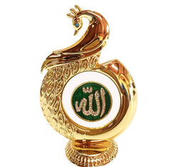 International Gift Allah God Gold Plated Idol (7 cm x 8 cm x 16 cm, Gold) $ IGSPBR1054