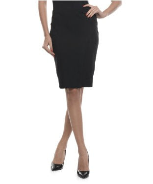 Koton Black Knee Length Skirt